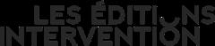 Logo des éditions Intervention